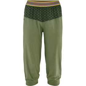Red Chili Unra II Pantaloni 3/4 Donna, alga green